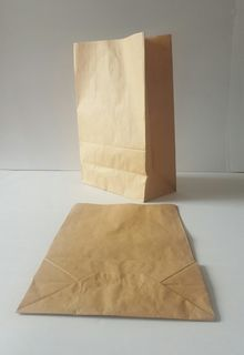 PAPER CHECKOUT BAG - LARGE (SQUARE BOTTOM)
