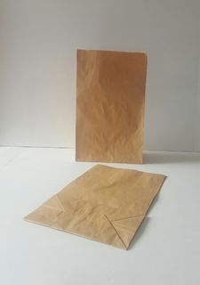 PAPER CHECKOUT BAG - SMALL (SQUARE BOTTOM)