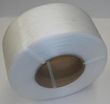 12mm x 3000m MACHINE STRAP CLEAR
