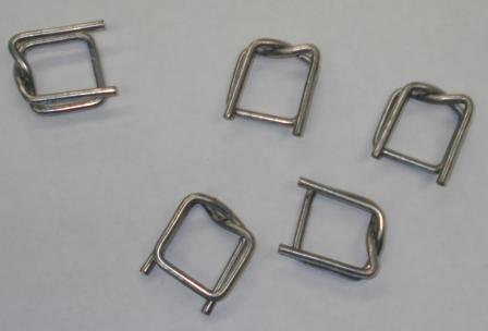 HEAVY DUTY METAL PACKAGING BUCKLES 19mm