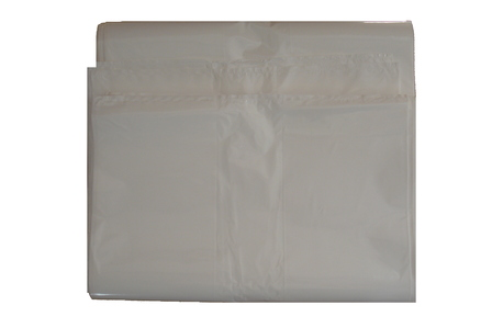 350/275x900x30 RUBBISH BAG IN WHITE