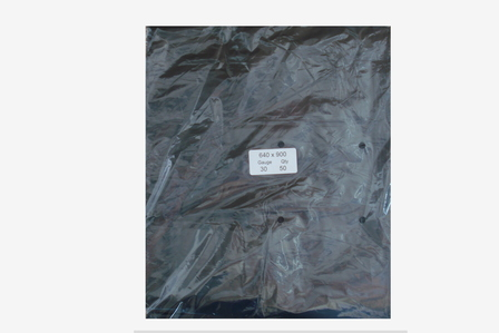 640x900x30 RUBBISH BAG IN BLACK